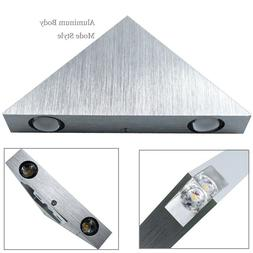 US Triangle LED Wall Sconces Light Fixture Bedroom Porch Hot