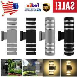 USA LED Wall Sconce Modern Porch Light IP65 Up/Down Wall Lig