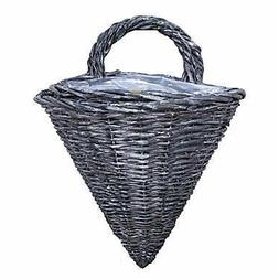 Cheung's UW-9717-2GW Willow Wired Set of 2 Lined Wall Basket