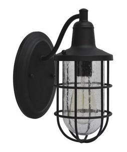 Vintage Contemporary Outdoor Wall Lantern Nautical Cage Home