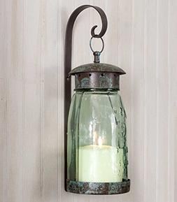 Vintage Style Decorative Wall Sconce Hanging Candle Lantern