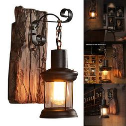 Retro Vintage Industrial Wall Lamp Lighting Sconce LED Light