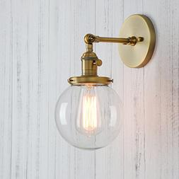 Permo Vintage Industrial Wall Sconce Lighting Fixture with M