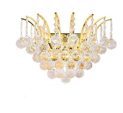Worldwide Lighting W23014G16 Empire Collection 3 Light Gold