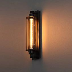 Wall Light Edision Vintage Sconce Light Fixture Metal Cage W