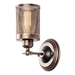 Wall Sconce Industrial Vintage 1-Light, MOONKIST Rustic Fixt