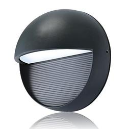 Lightess Outdoor Wall Sconce Waterproof LED Wall Light Bulkh