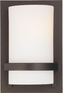 Minka Lavery Wall Sconces 342-172 Glass 1 Light 100 watt  Sc