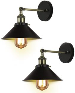 Wall Sconces Set of Two Deep Dream UL Hardwire Industrial Vi