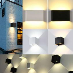 Waterproof Modern LED Wall Light Up Down Sconce Lighting Cor