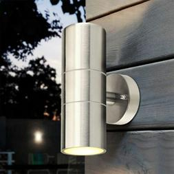 Stainless Steel Outdoor Wall Sconce Waterproof Wall Light Fi