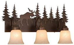 Vaxcel Yellowstone Indoor 3 Light Vanity Light